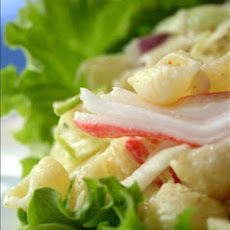 Easy Seashell Krab Salad