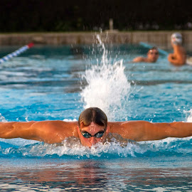 glider by Matic Žižek - Sports & Fitness Swimming (  )