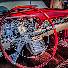 Classic Dash by Ron Meyers - Transportation Automobiles