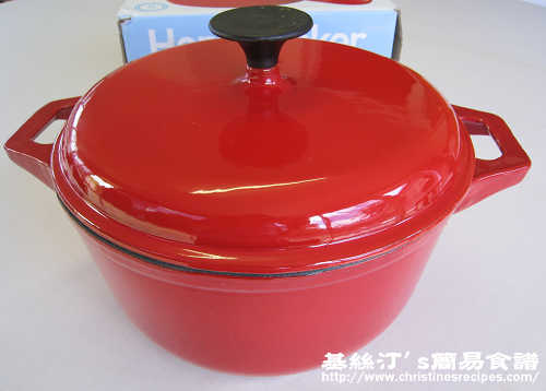 搪瓷鑄鐵烤鍋 Enameled Cast-Iron Casserole01
