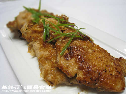 日式薑汁豬扒 Japanese Pork Chops in Ginger Sauce01