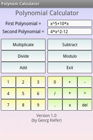 多項式計算器臨