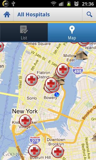 【免費健康App】US Hospitals Premium-APP點子
