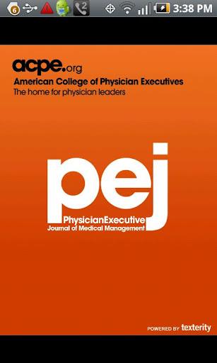 Physician Executive Journal P