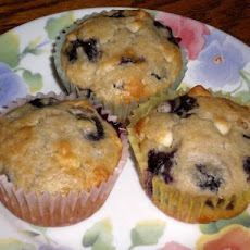 Blueberry White Chip Muffins