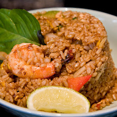 Sesame Shrimp With Fried Rice