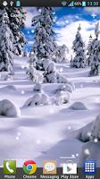Screenshot of Snow Free Live Wallpaper