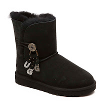 UGG Australia Bailey Letter Charm BOOTS