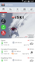 Screenshot of iSKI Swiss
