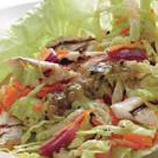 Grilled Fish-and-Slaw