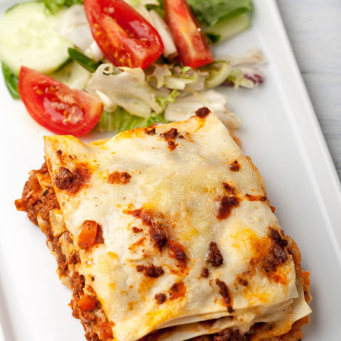 Amazing Beef and Sausage Lasagna