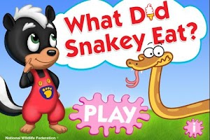 Screenshot of What Did Snakey Eat?