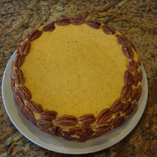 The Cheesecake Factory's Pumpkin Ginger Cheesecake
