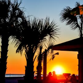 Coastal Sunset by Diane Davis - Landscapes Sunsets & Sunrises