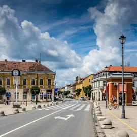 Daruvar by Štefan Brajković - City,  Street & Park  Street Scenes ( daruvar, croatia, bjelovar-bilogora county )