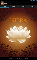 Screenshot of Yoga Nidra english