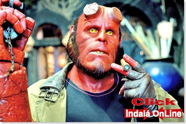 RON PERLMAN is Hellboy in Hellboy II: The Golden Army.