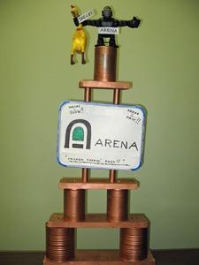 Leo's Arena trophy