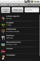 Screenshot of BirdBox