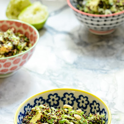 Broccoli Quinoa Lentil Salad