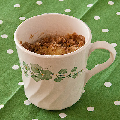 Coffee Cake in a Mug