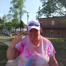 The color run by Donna Ferris - Sports & Fitness Running ( colorful, mood factory, vibrant, happiness, January, moods, emotions, inspiration )