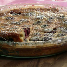 Blackberry-Ginger Clafouti