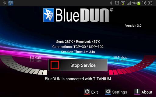 BlueDUN - screenshot