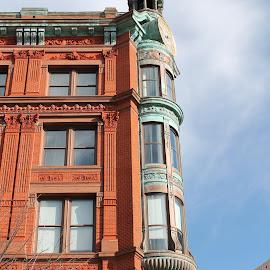 DC by Rebekah Doar - Buildings & Architecture Other Exteriors ( dc, side, brick )