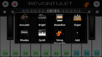 Screenshot of String Ensemble Sound Plugin
