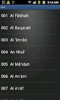 Screenshot of الشيخ سعد الغامدي