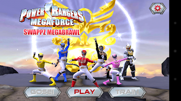 Screenshot of Power Rangers:Swappz MegaBrawl
