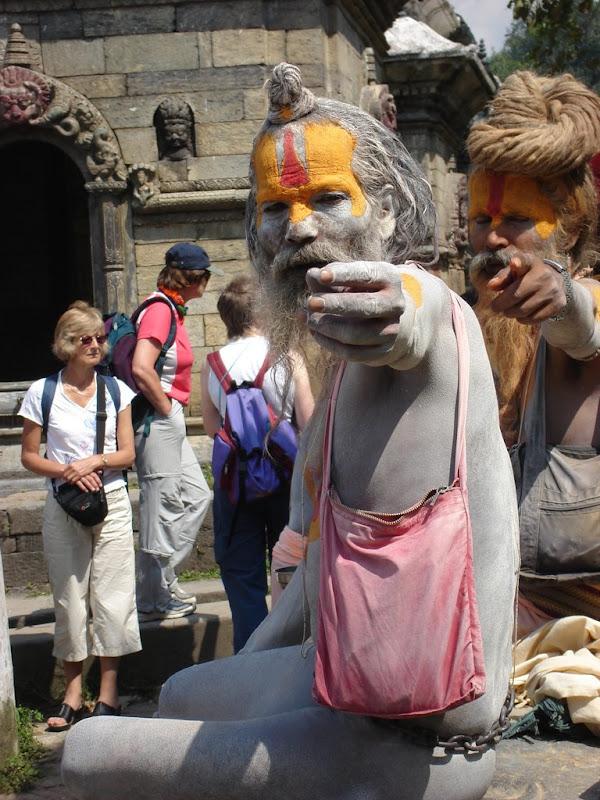 photo sadhu, nepal, katmandou