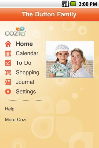 cozi-family-calendar-lists for android screenshot