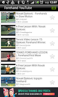 Screenshot of Open Tennis(Tennis Lesson)