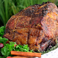 Garlic & Sea Salt Rubbed Prime Rib