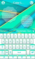 Screenshot of Color L GO Keyboard
