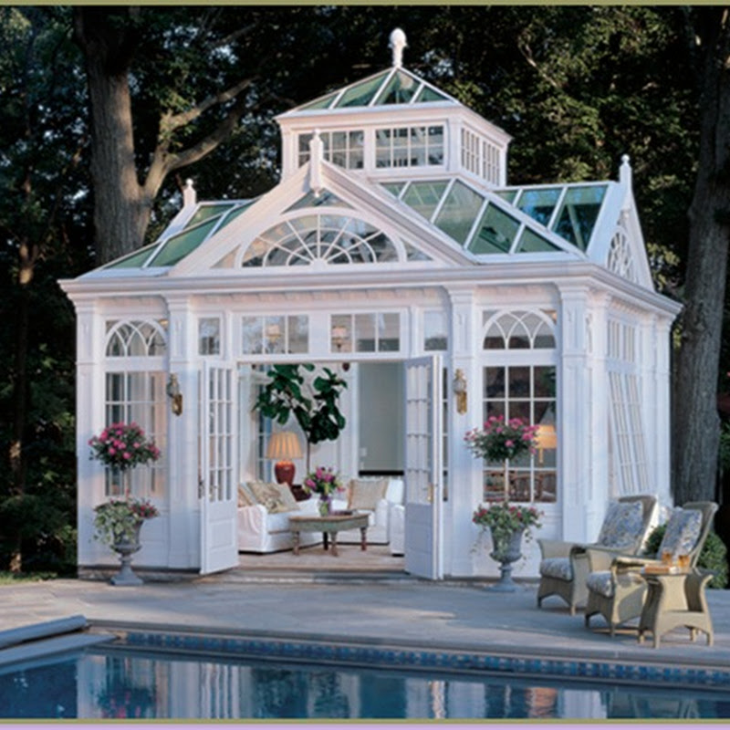 Conservatories, Orangeries, and Poolhouses