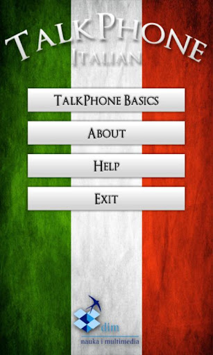 TalkPhone Italian Basics