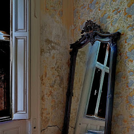 by Dragana Jankovic - Artistic Objects Furniture ( fantasy, old house, mirror, artistic object, furniture )