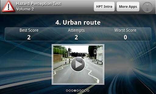 Hazard Perception Test Vol. 2