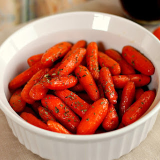 Maple Brown Sugar Glazed Carrots