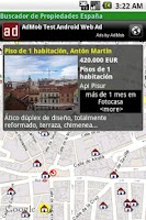 Screenshot of Property Finder Spain