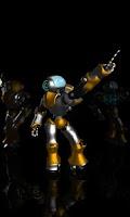 Screenshot of Dancing Robot Live Wallpaper