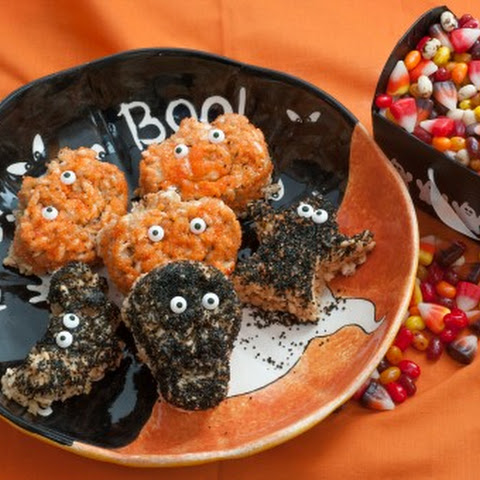 Halloween Marshmallow Treats