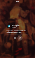 Screenshot of AcDisplay