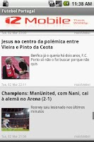 Screenshot of Futebol Portugal
