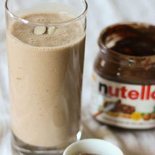 Banana Nutella Smoothie