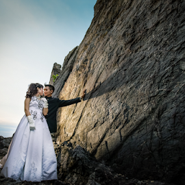 My Love by Shabby Crazzy - Wedding Bride & Groom ( outdoor photography, wedding photographer )
