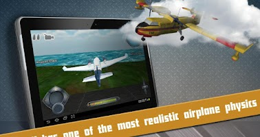 Screenshot of Free Flight Simulator Takeoff